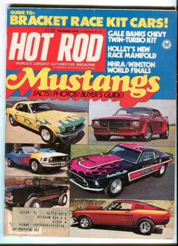 1978 December Hot Rod Magazine Back Issue - Mustang Buyers Guide   - TvMovieCards.com
