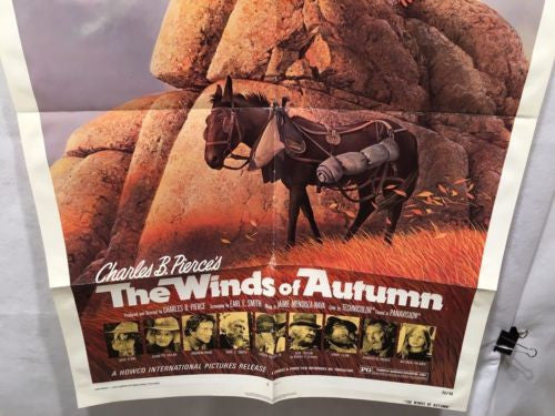 "Original 1976 ""The Winds of Autumn"" 1 Sheet Movie Poster 27x 41"" Jack Elam   - TvMovieCards.com"