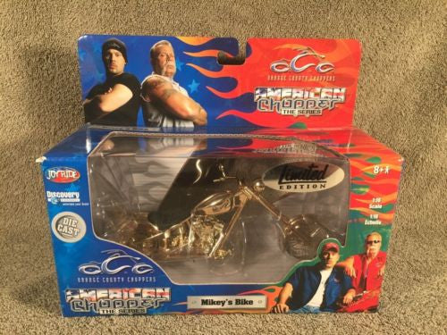 Orange County Choppers Diecast Motorcycle Mikey's Bike Limited Gold by ERTL 2004   - TvMovieCards.com