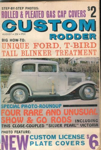 "Custom Rodder Automotive Enthusiast Digest Magazine ""Silver Pearl"" Victoria   - TvMovieCards.com"