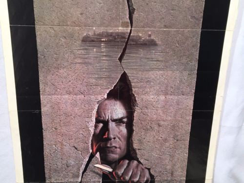 1979 Clint Eastwood - Escape from Alcatraz One Sheet Movie Poster 27x41   - TvMovieCards.com