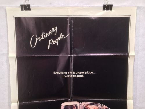 "Original 1980 ""Ordinary People"" 1 Sheet Movie Poster 27""x 41"" Mary Tyler Moore   - TvMovieCards.com"