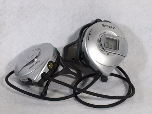 Sony FM Walkman Mega Bass SRF-MQ11 On Ear Headphones Radio   - TvMovieCards.com