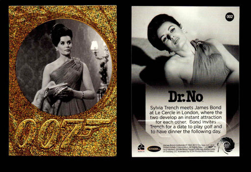 James Bond 50th Anniversary Series Two Gold Parallel Chase Card Singles #2-198 #2  - TvMovieCards.com
