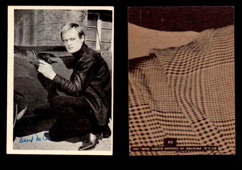 1965 The Man From U.N.C.L.E. Topps Vintage Trading Cards You Pick Singles #1-55 #38  - TvMovieCards.com
