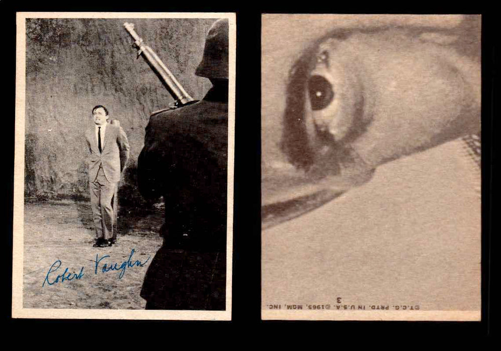 1965 The Man From U.N.C.L.E. Topps Vintage Trading Cards You Pick Singles #1-55 #3  - TvMovieCards.com