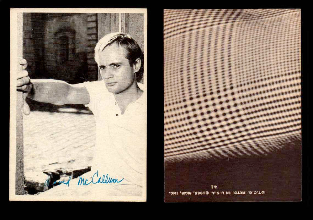 1965 The Man From U.N.C.L.E. Topps Vintage Trading Cards You Pick Singles #1-55 #41  - TvMovieCards.com