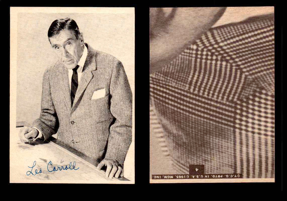 1965 The Man From U.N.C.L.E. Topps Vintage Trading Cards You Pick Singles #1-55 #4  - TvMovieCards.com