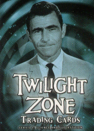 Twilight Zone 4 Science and Superstition Promo Card P3   - TvMovieCards.com