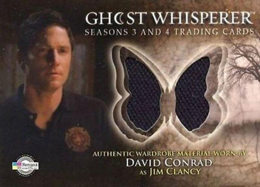 Ghost Whisperer Seasons 3 & 4 David Conrad as Jim Clancy Costume Card C22   - TvMovieCards.com