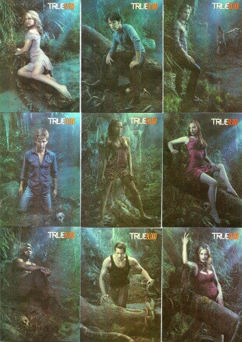 True Blood Premiere Edition Do Bad Things Chase Card Set Front