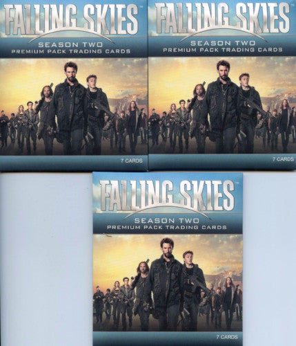Falling Skies Season 2 Premium Trading Card 3 Pack Lot