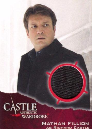 Castle Seasons 3 & 4 Richard Castle Wardrobe Costume Card M16   - TvMovieCards.com