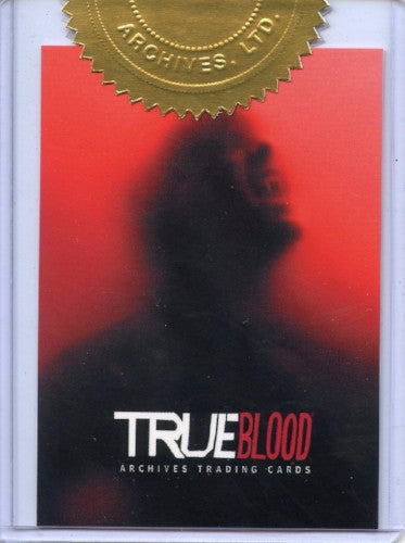 True Blood Archives Case Topper Chase Card   - TvMovieCards.com