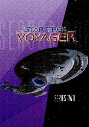 Star Trek Voyager Season 1 Series 2 Limited #0 Promo Card Front