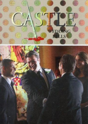 Castle Seasons 3 & 4 Foil Parallel Chase Card Caskett C6   - TvMovieCards.com