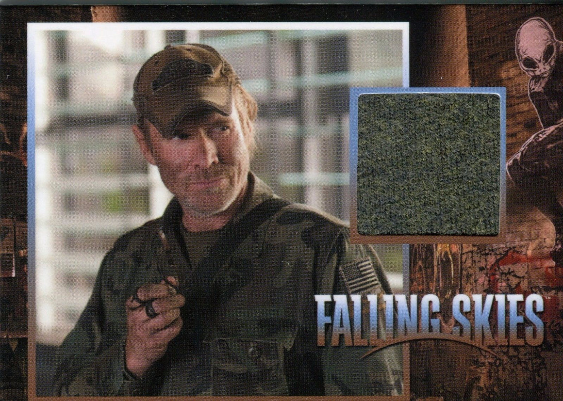 Falling Skies Season 2 Premium Pack Captain Weaver Costume Card CC29