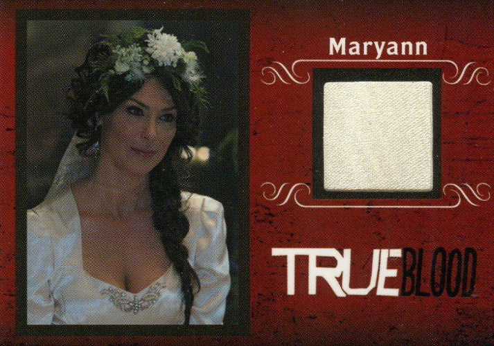 True Blood Archives Maryann Forrester Costume Card C7   - TvMovieCards.com