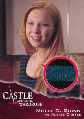 Castle Seasons 3 & 4 Alexis Castle Wardrobe Costume Card M05   - TvMovieCards.com