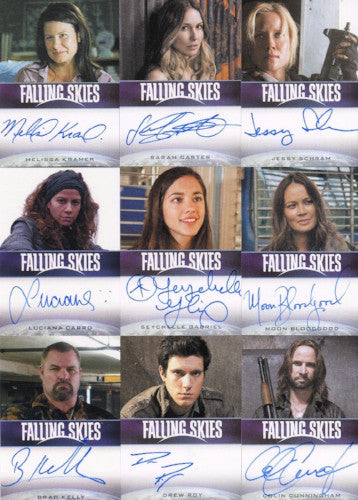 Falling Skies Season 2 Premium Pack Autograph Card Set 19 Cards