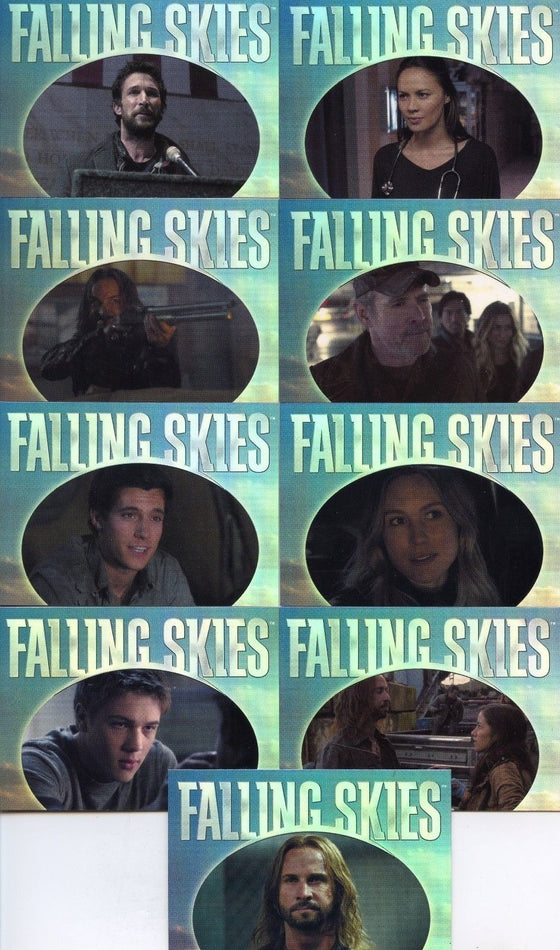 Falling Skies Season 2 Premium Pack Quotable Chase Card Set