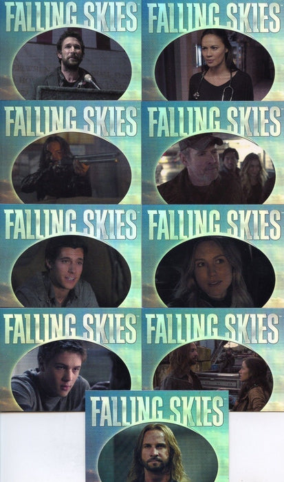 Falling Skies Season 2 Premium Pack Quotable Chase Card Set   - TvMovieCards.com