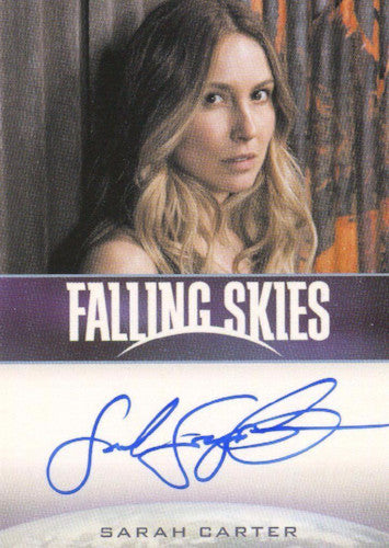 Falling Skies Season 2 Premium Pack Sarah Carter Autograph Card