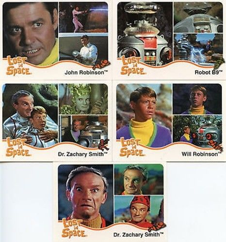 Lost in Space The Complete Lost in Space Promo Card Set 5 Cards   - TvMovieCards.com