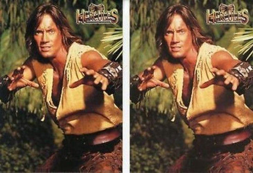 Hercules The Complete Journeys Promo Card Variant Lot 2 Cards   - TvMovieCards.com