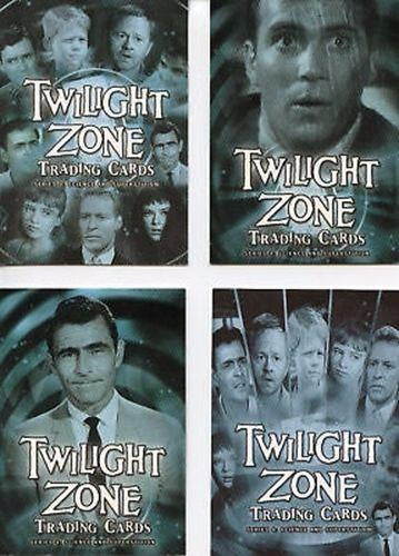 Twilight Zone 4 Science and Superstition Promo Card Lot 4 Cards   - TvMovieCards.com