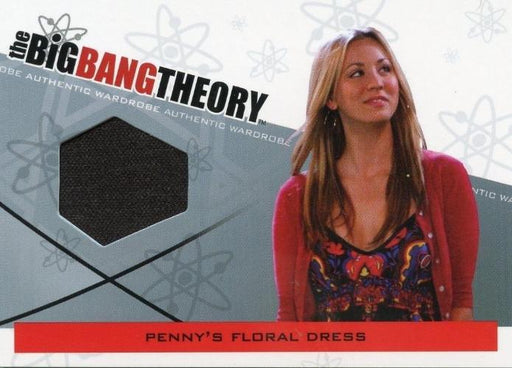 Big Bang Theory Seasons 3 & 4 Penny's Floral Dress Wardrobe Costume Card M-16   - TvMovieCards.com