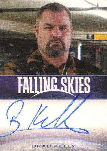 Falling Skies Season 2 Premium Pack Brad Kelly Autograph Card