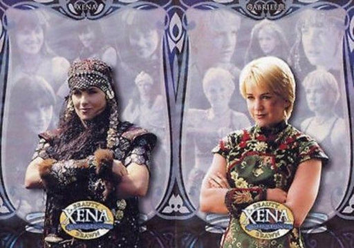 Xena Beauty and Brawn Promo Card Set 2 Cards   - TvMovieCards.com