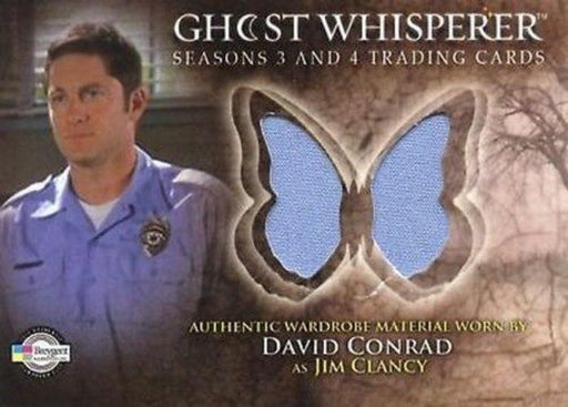 Ghost Whisperer Seasons 3 & 4 David Conrad as Jim Clancy Costume Card C12   - TvMovieCards.com