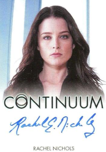 Continuum Seasons 1 & 2 Rachel Nichols as Kiera Cameron Autograph Card Front