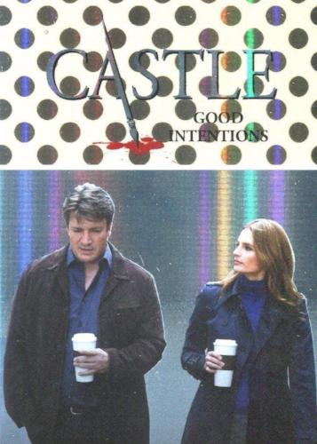 Castle Seasons 3 & 4 Foil Parallel Chase Card Caskett C8   - TvMovieCards.com