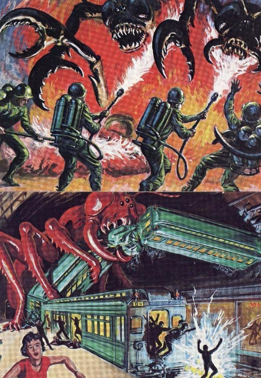 Mars Attacks Card Set 4 Cards   - TvMovieCards.com