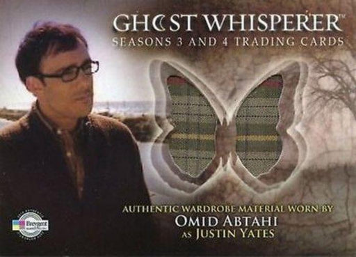 Ghost Whisperer Seasons 3 & 4 Omid Abtahi as Justin Yates Costume Card C25   - TvMovieCards.com