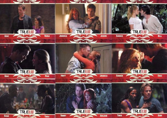 True Blood Archives Relationships Chase Card Set Front1