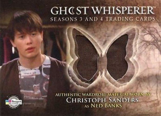 Ghost Whisperer Seasons 3 & 4 Christopher Sanders as Ned Banks Costume Card C24   - TvMovieCards.com
