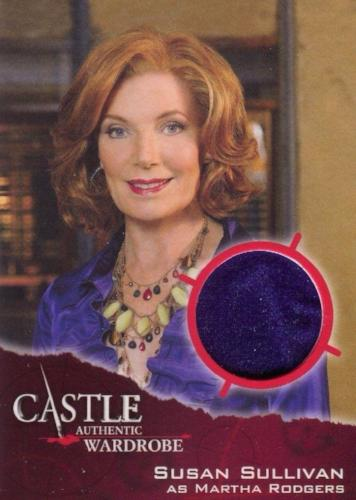 Castle Seasons 3 & 4 Martha Rodgers Wardrobe Costume Card M03   - TvMovieCards.com