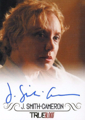 True Blood Archives J. Smith-Cameron Autograph Card Front