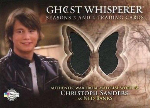 Ghost Whisperer Seasons 3 & 4 Christopher Sanders as Ned Banks Costume Card C16   - TvMovieCards.com