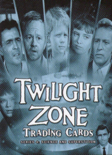 Twilight Zone 4 Science and Superstition Promo Card CP1   - TvMovieCards.com