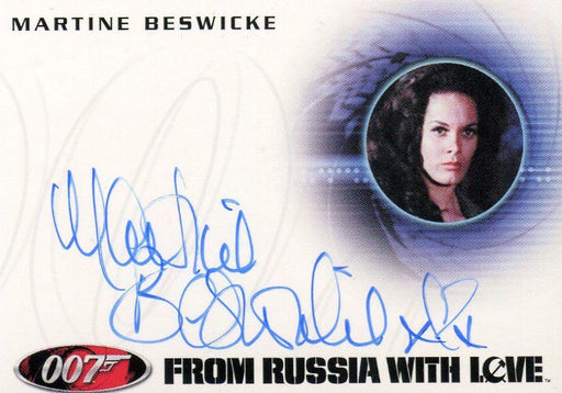 James Bond 50th Anniversary Series One Martine Beswicke Autograph Card A198   - TvMovieCards.com