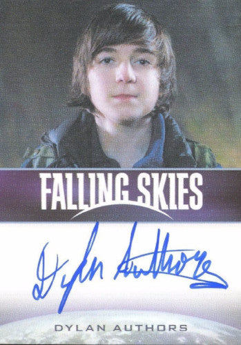 Falling Skies Season 2 Premium Pack Dylan Authors Autograph Card