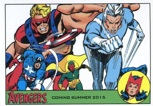 Avengers The Silver Age Promo Card P3   - TvMovieCards.com
