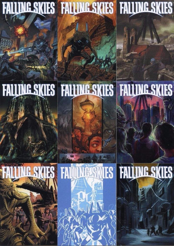 Falling Skies Premium Pack International Pinup Chase Card Set 9 Cards