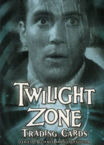 Twilight Zone 4 Science and Superstition Promo Card P2 Front