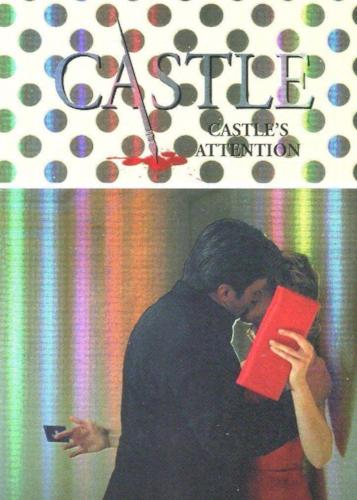 Castle Seasons 3 & 4 Foil Parallel Chase Card Caskett C3   - TvMovieCards.com